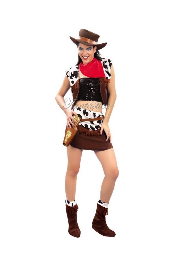 maquillaje disfraz vaquera