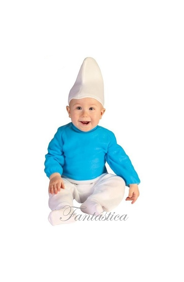 disfraz para beb y nio pitufo