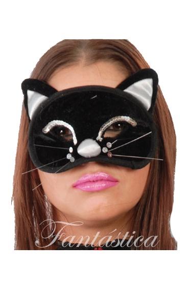 Antifaz m scara de gatita para disfraz tienda esfantastica - Disfraces de gatitas para nina ...