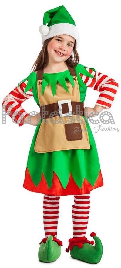 disfraz para nia elfa navidea econmico disfraces infantiles de navidad baratos disfraz para nio