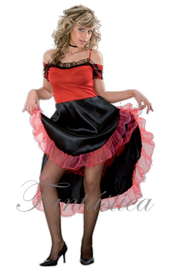 f900c6ad0 Disfraz para Mujer Bailarina de Can Can II
