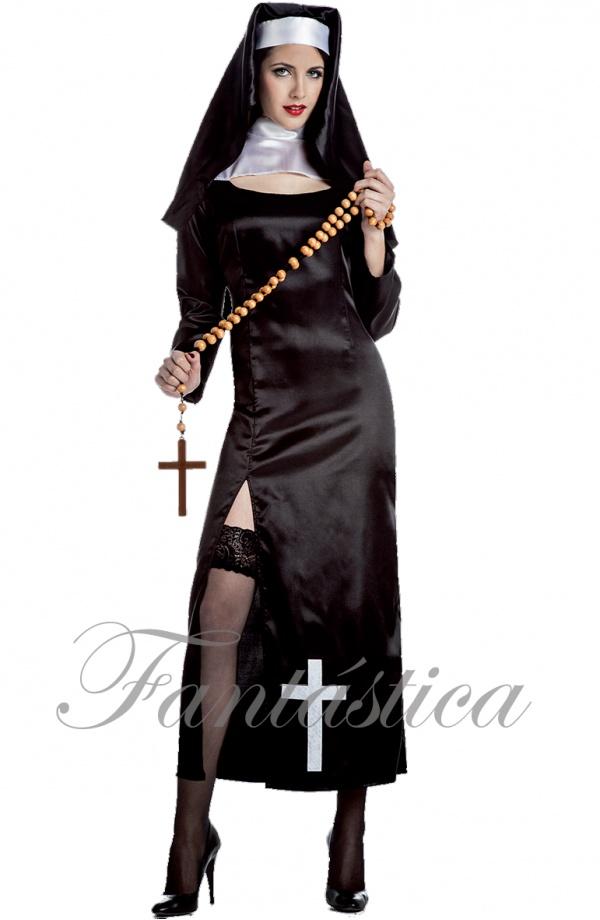 d9857b295 Disfraz para Mujer Monja Sexy V