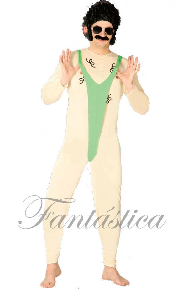 a71947b677e0 Disfraz para Hombre Borat Bikini Mankini Traje de Baño Cachondo