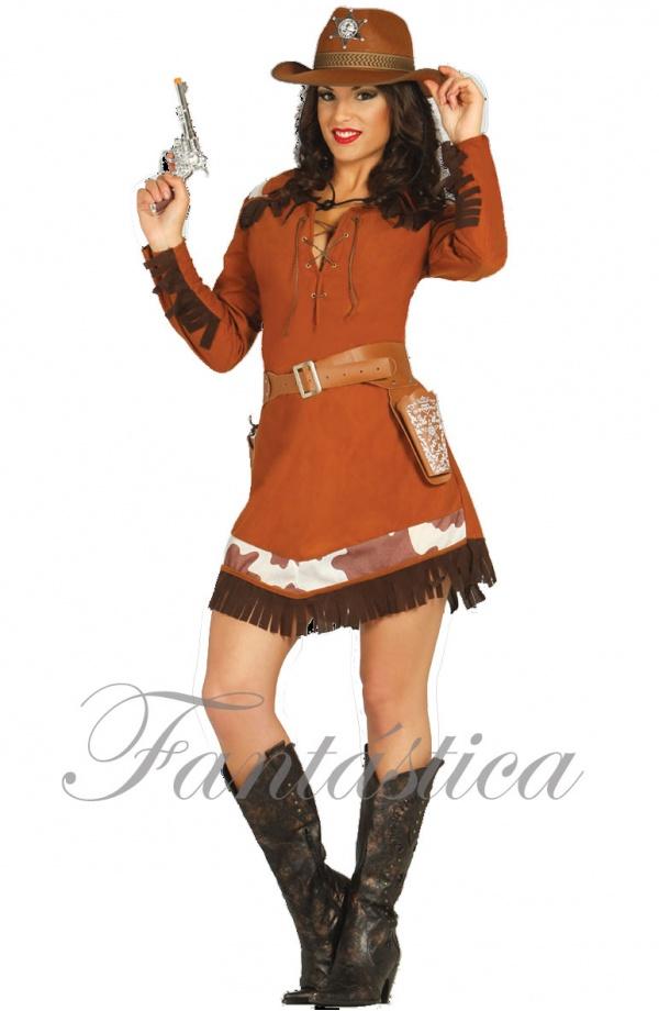 Precioso y sexy Disfraz para Mujer de Vaquera Cowgirl 1293da506cb
