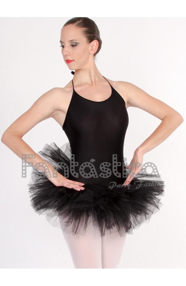 c4e60509c Tutú para Ballet, Danza y Gimnasia - Falda de Tul para Mujer Color Negro