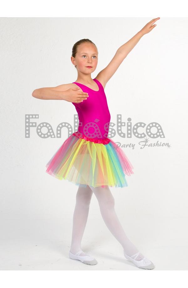 06804c7de Tutú para Ballet y Danza - Falda de Tul para Niña y Mujer Multicolor I
