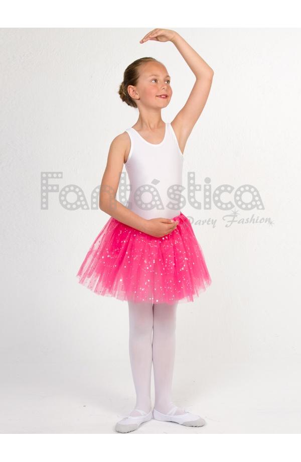 718cf5a0a8 Tutú para Ballet y Danza - Falda de Tul para Niña y Mujer Color ...