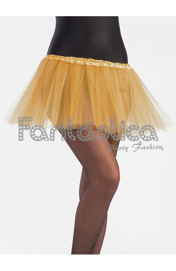 333b4f5c6 Tutú para Ballet y Danza - Falda de Tul para Niña y Mujer Color Ocre Dorado