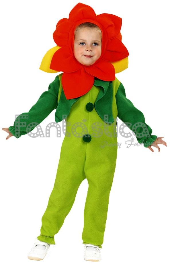 Disfraz Para Niño Y Niña Flor