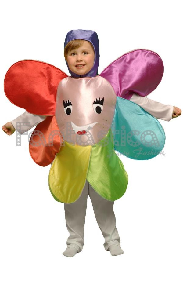 Disfraz Para Niño Y Niña Flor Ii