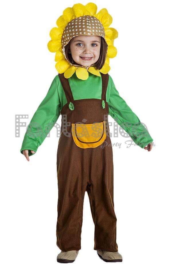 Disfraz Para Niño Y Niña Girasol