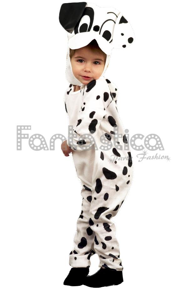 Disfraz para Niño y Niña Perro Dálmata. Chulísimo disfraz de perrito  dálmata que incluye traje y gorro. Perfecto para Carnaval 6060175e18e