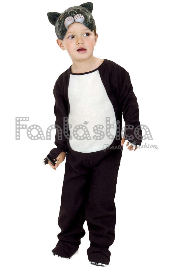 86cf25989 Disfraz para Niño y Niña Gatito
