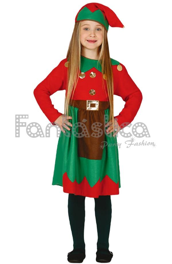 Disfraz para ni a elfa navide a ii - Disfraz navideno nina ...