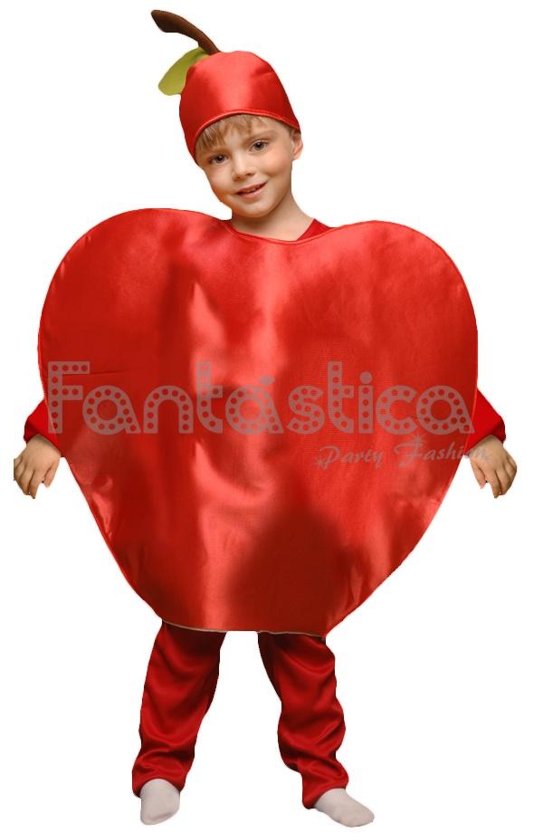 Disfraz Para Niño Y Niña Manzana