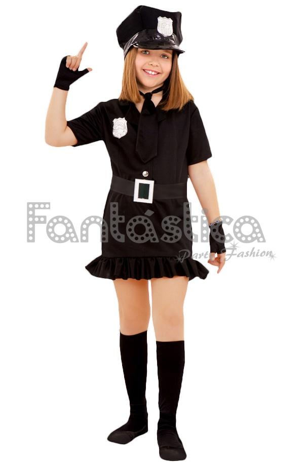 1686212ca Disfraz para Niña Policía II