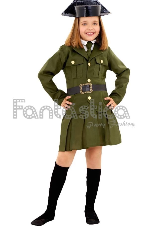 7f29fc08a Disfraz para Niña Guardia Civil