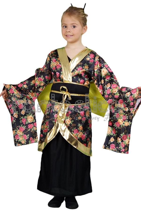 Disfraz Para Niña Geisha