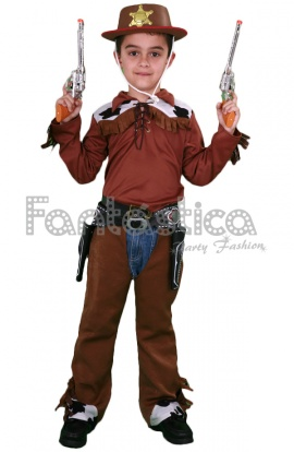 Alucinante Disfraz para Niño de Vaquero Cowboy ideal para Carnaval 8f526409d6d
