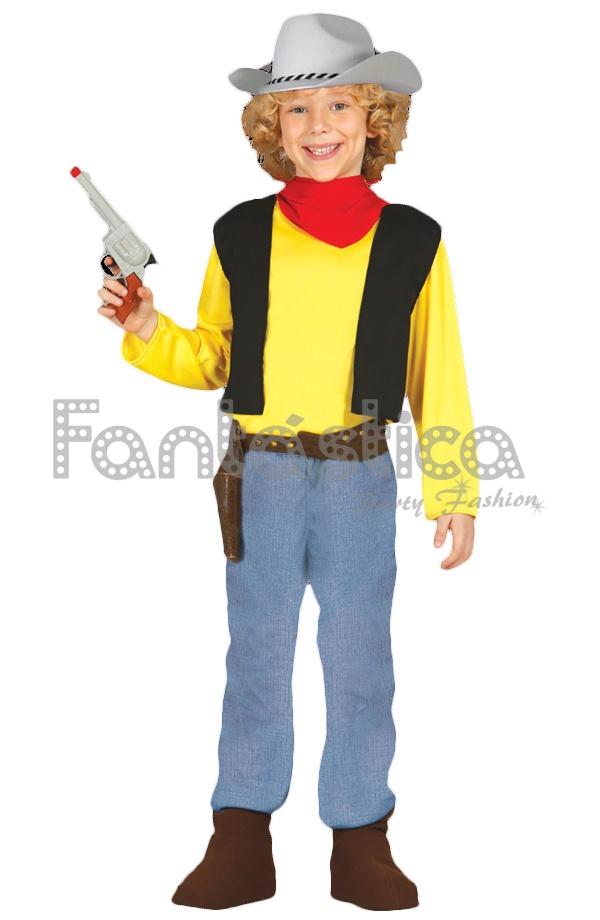 Disfraz para Niño Vaquero Cowboy IV Lucky Luke cf0ba5f9cef