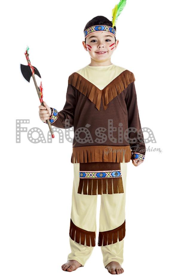 4b3a321f6 Fenomenal y divertido Disfraz para Niño de Indio Guerrero perfecto para  Carnaval, Halloween, fiestas de disfraces, actos escolares, ferias,  espectáculos, ...