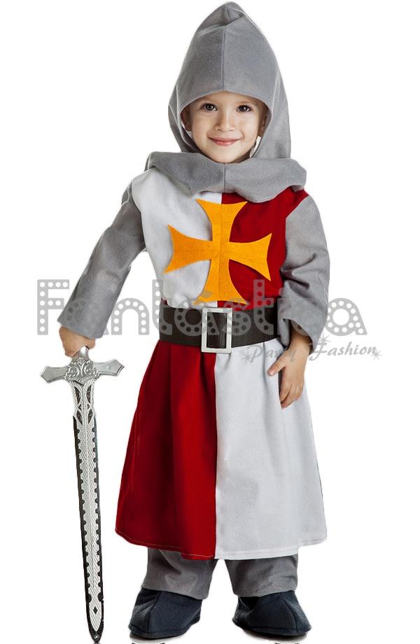 0becfe899 Disfraz para Niño Caballero Guerrero Medieval XIII