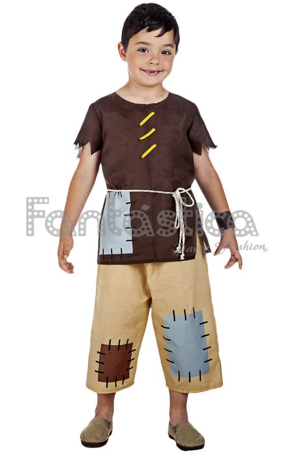 591503580 Disfraz para Niño Mendigo Medieval. Original y divertido disfraz de mendigo  medieval perfecto para Carnaval, Halloween, fiestas de disfraces,  espectáculos, ...