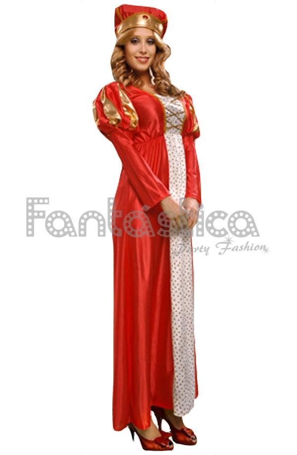 Disfraz para Mujer Reina Medieval perfecto para Carnaval e59a97df4588