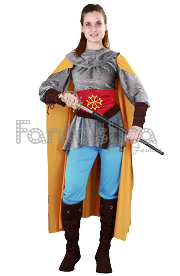 Para Medieval Guerrera Disfraz Para Mujer Disfraz gf7y6bY