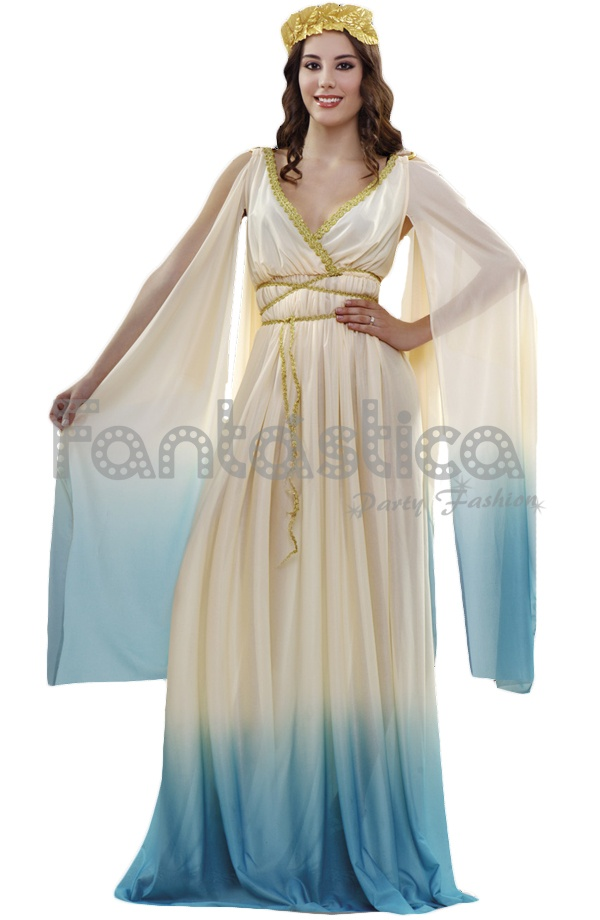 Vestido griego para mujer