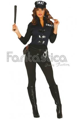 Disfraz para Mujer Policía SWAT ac91a49dbf2
