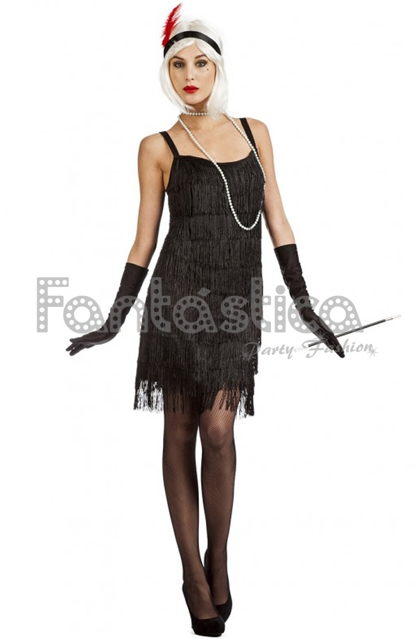 Disfraz Para Mujer Charleston Xiv
