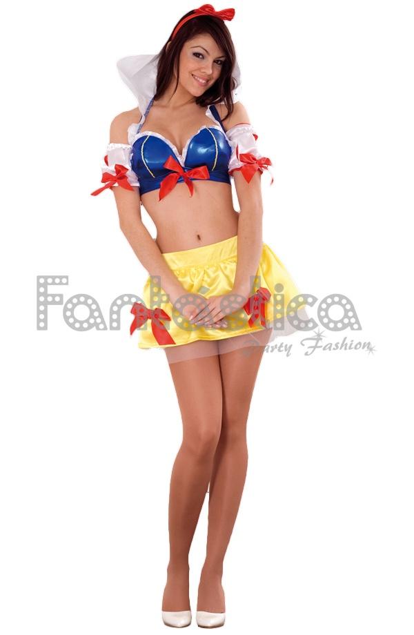 752777b6304c Disfraz para Mujer de Blancanieves Súper Sexy, perfecto para Carnaval,  Halloween, fiestas de disfraces, despedidas de soltero/a, espectáculos y  eventos ...