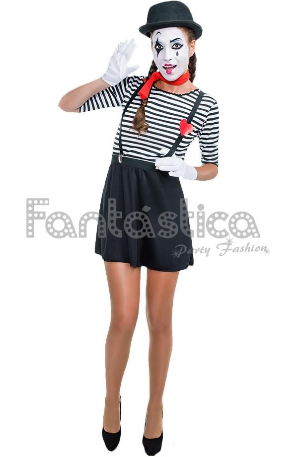 Disfraz para Mujer Mimo 2c096150187