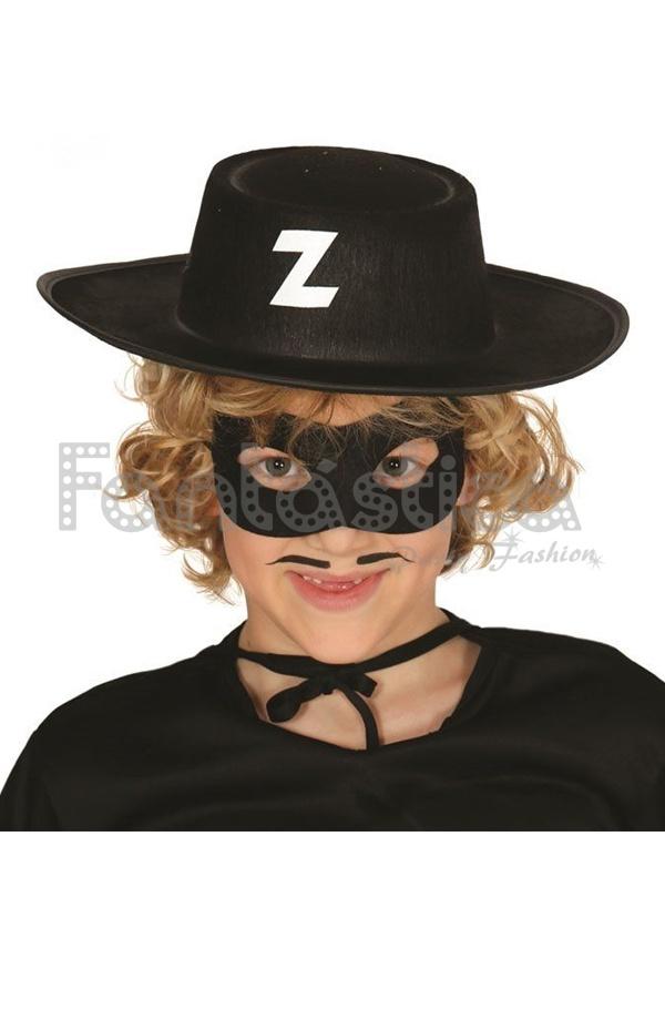 Sombrero De El Zorro Para Disfraz Infantil