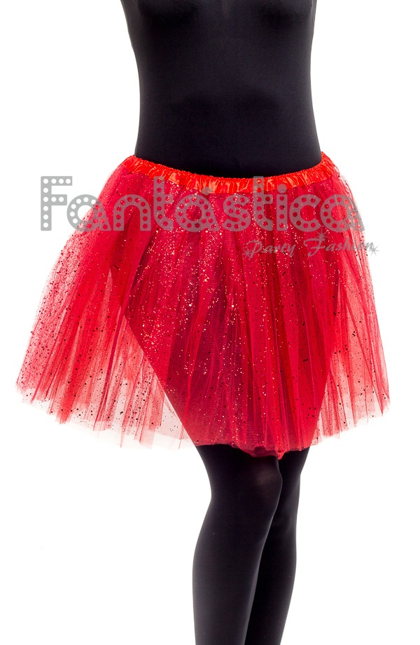 De Falda Ballet Rojo Con Color Y Danza Mujer Tutú Para Tul B4wxHzX