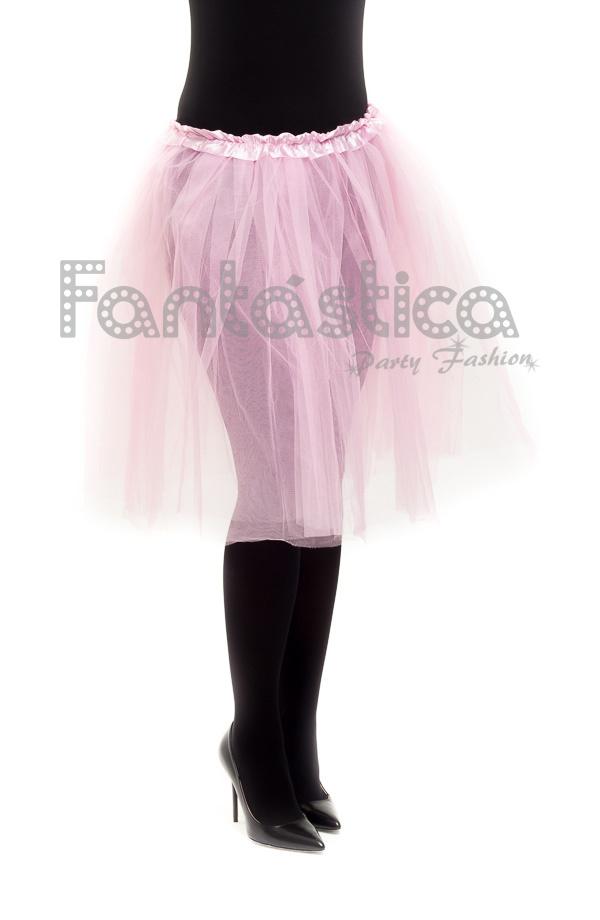5cd3b6b6f Tutú para Ballet y Danza - Falda de Tul Larga para Mujer Color Rosa