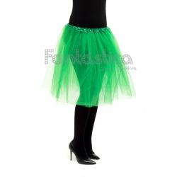 76a7aeb58 Tutú para Ballet y Danza - Falda de Tul Larga para Mujer Color Verde