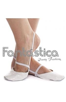 b09645b115dc90 Punteras ajustables para Danza y Gimnasia Rítmica Color Blanco Roto -  Tallas para Niña.