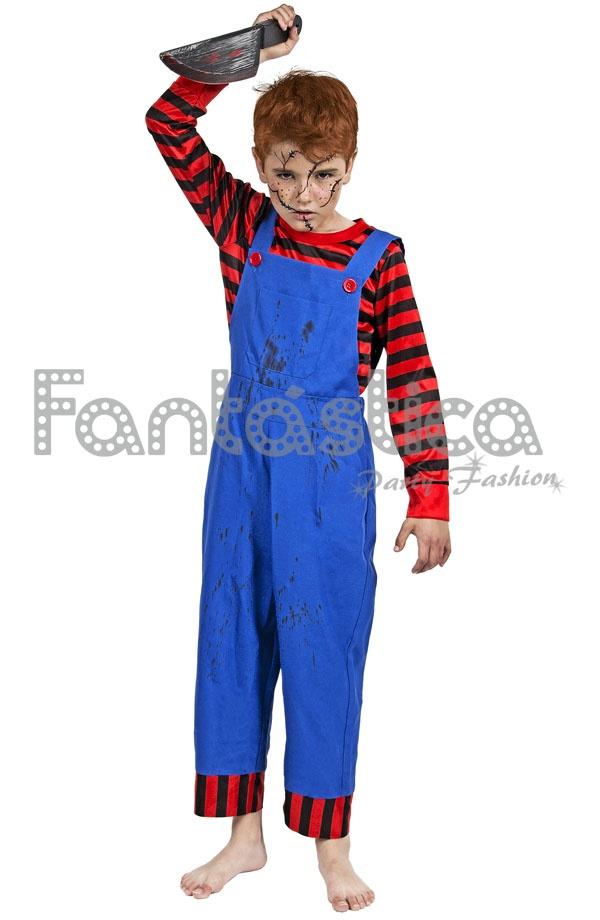 Disfraz para Niño de Chucky Muñeco Diabólico II