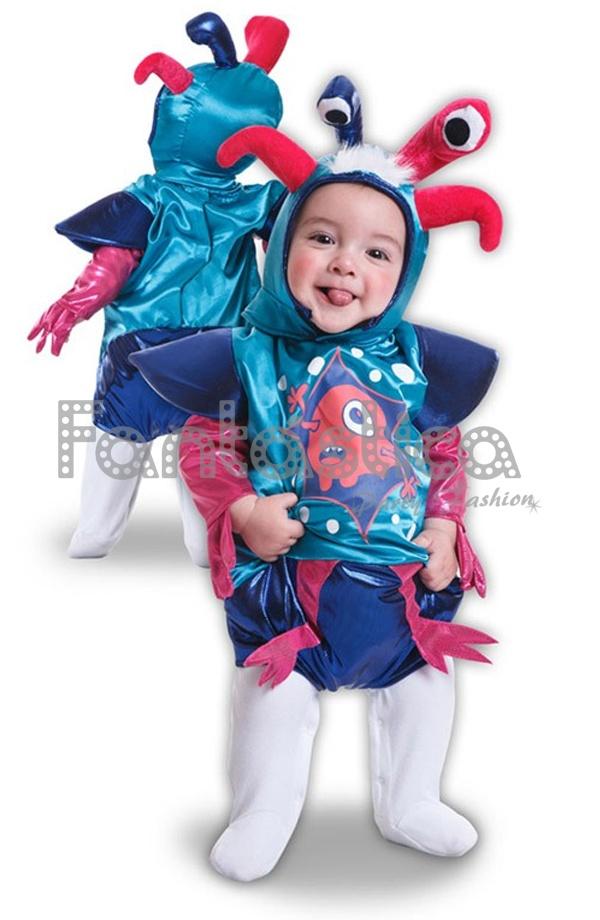 7c081d29c Monísimo Disfraz para Bebé y Niño de Monstruito Divertido perfecto para  Carnaval, Halloween, fiestas de disfraces, fiestas escolares, espectáculos  y eventos ...