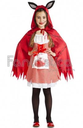 Disfraz Para Niña Caperucita Poseída
