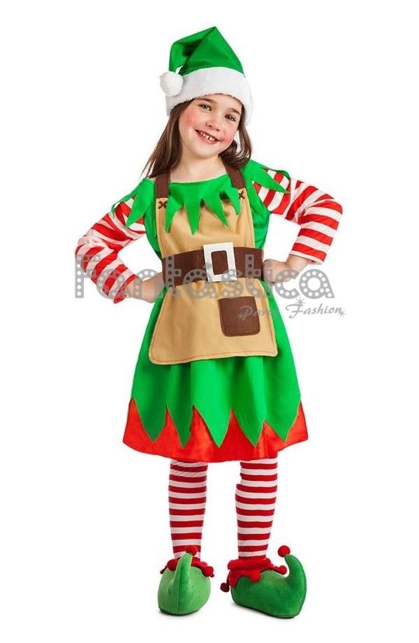 Disfraz para ni a elfa navide a iii - Disfraz navideno nina ...