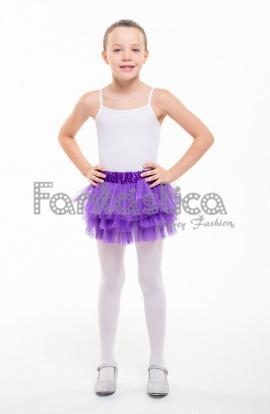 5c56fd7303 Tutú para Ballet y Danza - Falda de Tul con Volantes para Bebé y Niña  Pequeña Color.