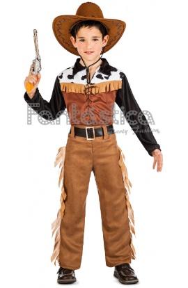 Guapísimo y encantador Disfraz para Niño de Vaquero Cowboy Texas perfecto  para Carnaval 3a798bfa160