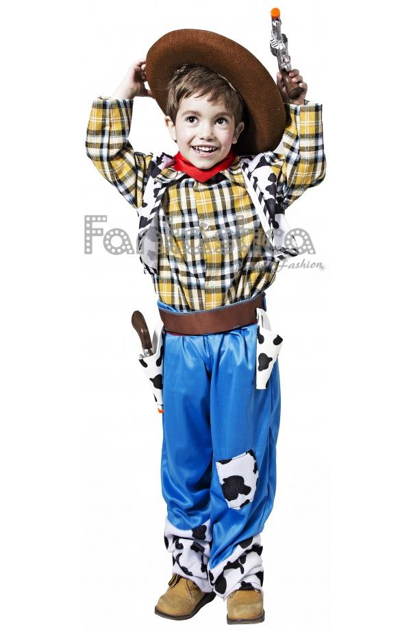 Divertido y chulísimo Disfraz para Niño Vaquero Cowboy perfecto para  Carnaval ef426ba020f
