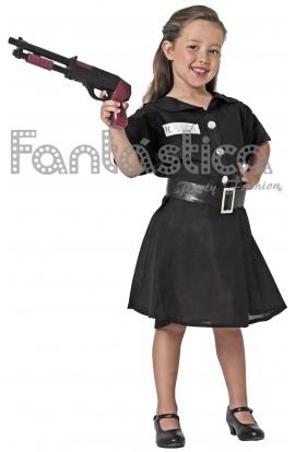 fb351b6e6 Disfraz para Niña Policía