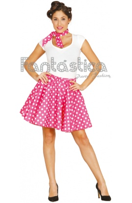 Disfraz Para Mujer Años 50 Iii Set Pin Up