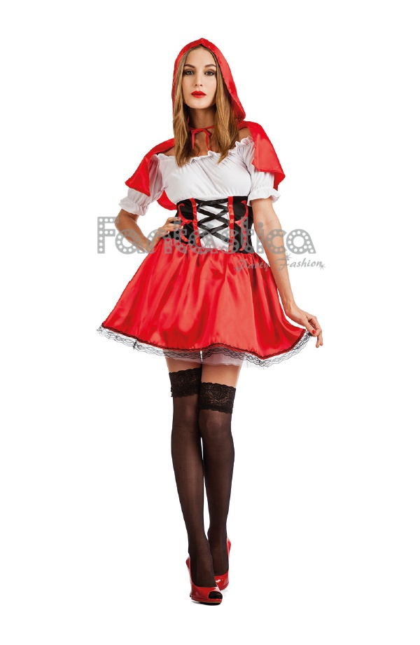 Disfraces Para Halloween De Caperucita Roja.Disfraz Para Mujer Caperucita Roja De Cuento