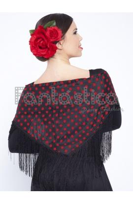 Manila Mantones Mantón Sevillana Lisos Flamenca TTxUaAn0